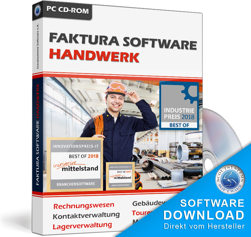 Günstiges Rechnungsprogramm für die Autowerkstatt,Kfz-Werkstatt u Teilehandel